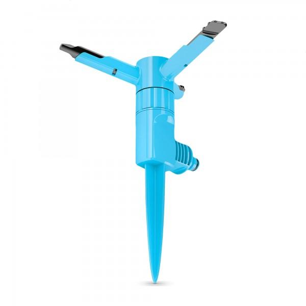 Kreisregner ERGO sz 3-armig mit Erdspieß - 12 Düsen - 200m²