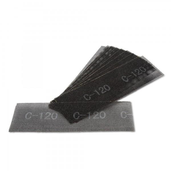 10 x Schleifgitter für Handschleifer - 280 x 93 mm - K120