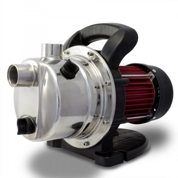 Berlan - Edelstahl Gartenpumpe 800 Watt / 3.200 L/h - BGP800E