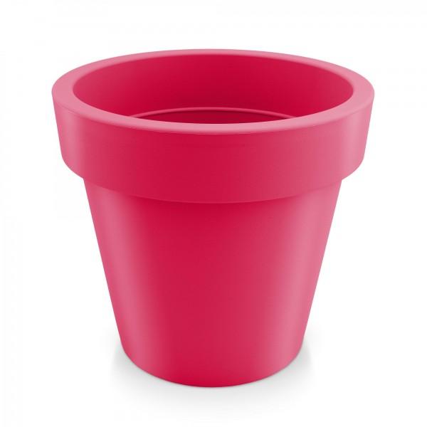 Kunststoff Blumentopf - rotviolett - Höhe 144 mm