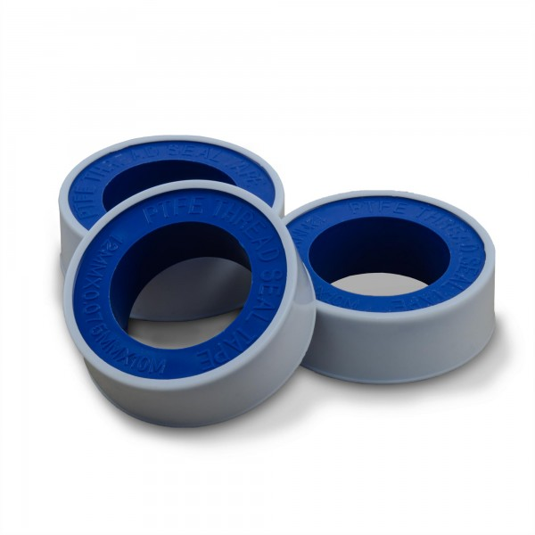3 x Teflondichtband - 10 m lang und 10 mm breit