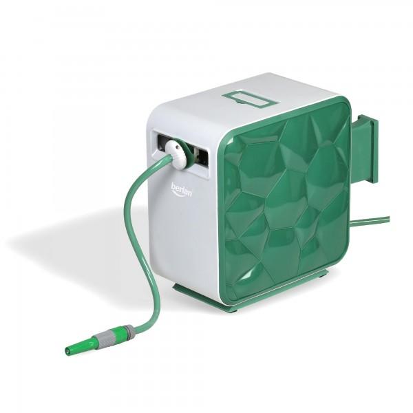 Berlan Automatischer Schlauchaufroller für Wasserschlauch Premium 30 Meter