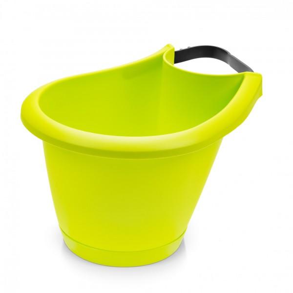 Blumentopf für Regen- und Fallrohre - 220 mm Durchmesser - limette