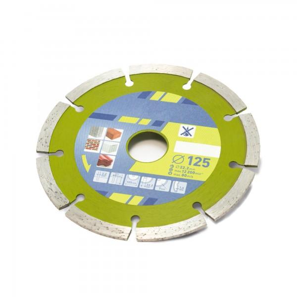 Diamant Trennscheibe SEGMENT BASIC - 125 mm