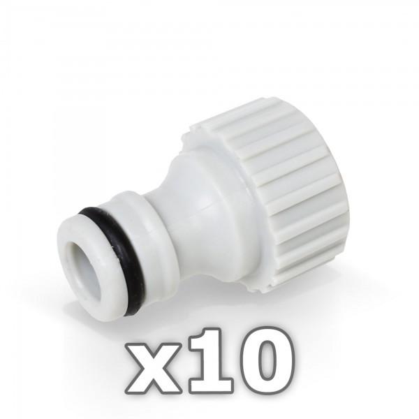 10 x Berlan Hahnstück für Wasserhahn 1/2'' Zoll - RED LINE -