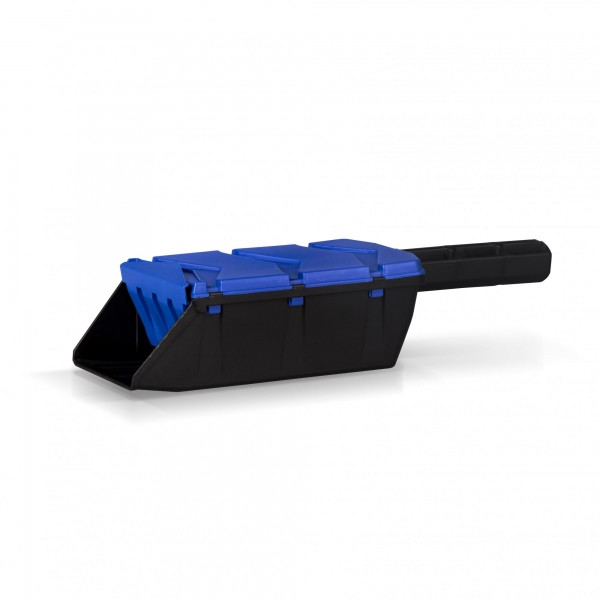 Streuschaufel SHARKIE - blau/schwarz