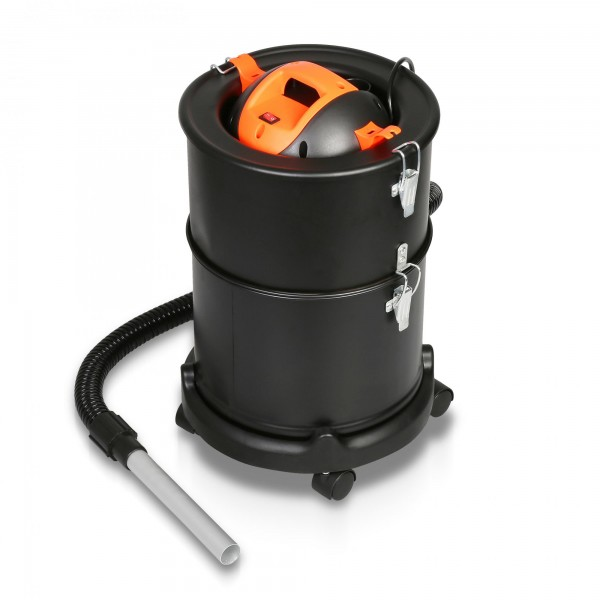Edelstahl Aschesauger - 1.200 Watt / 27 Liter mit HEPA Filter