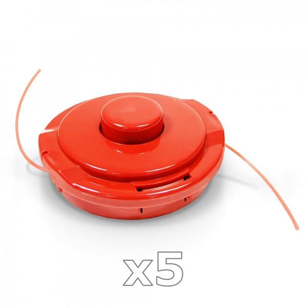 5 Stück - Fadenkopf für Motorsense 2,2 mm