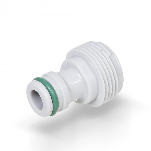 """Berlan Gerätestück 3/4"""" Zoll AG Geräteadapter -GREEN LINE-"""