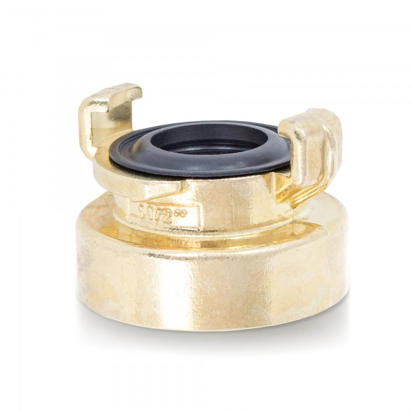 """Schnellkupplung 1-1/2"""" (3/2"""") Innengewinde - kompatibel mit GEKA System"""