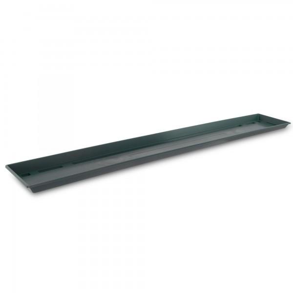 Blumenkastenuntersetzer 100 cm dunkelgrün