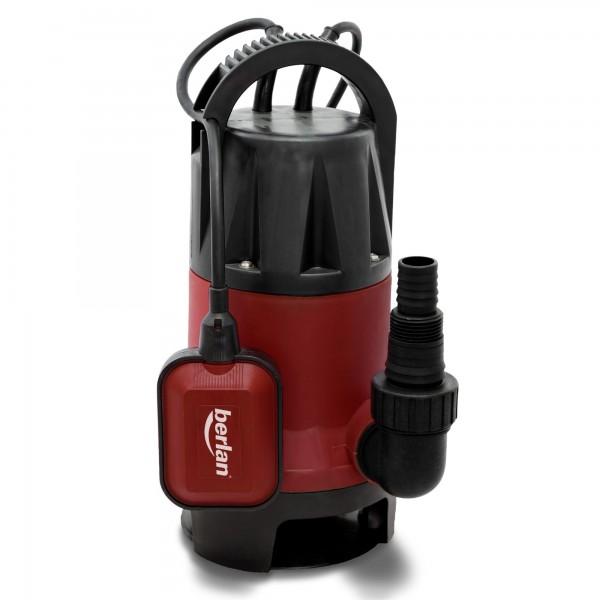 Berlan - Schmutzwasser Tauchpumpe 750 Watt / 12.500 L/h - BTP750