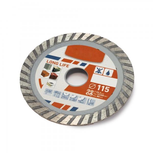 Diamant Trennscheibe TURBO PREMIUM - 115 mm