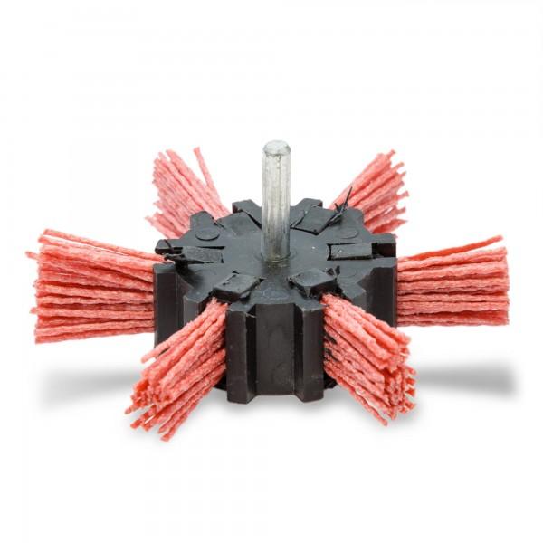 100 mm Nylon Fächerbürste - 6 mm Schaft