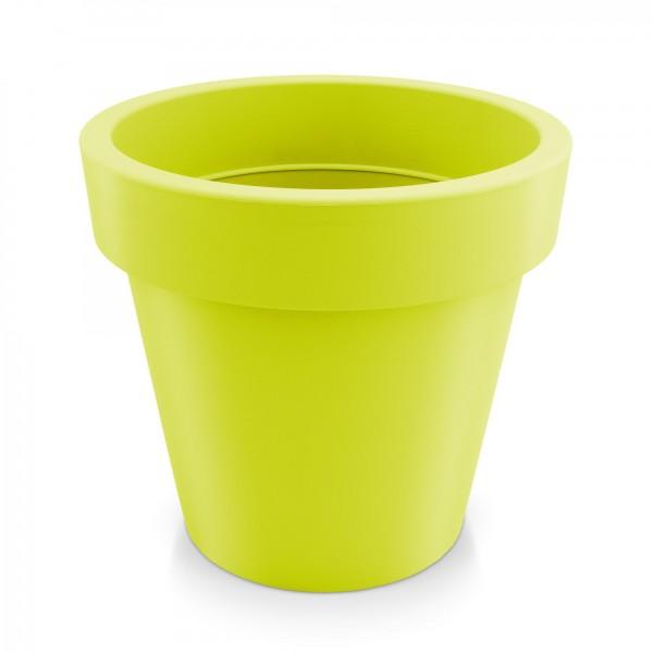 Kunststoff Blumentopf - mintgrün - Höhe 271 mm