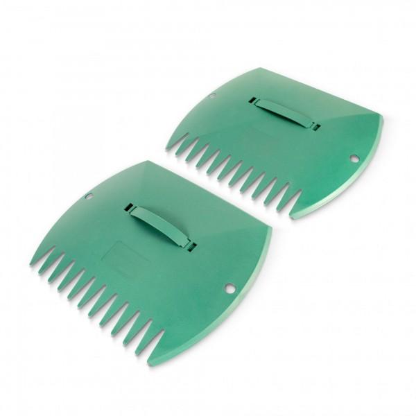 1 Paar Laubgreifer grün - 37 x 29,5 x 3 cm