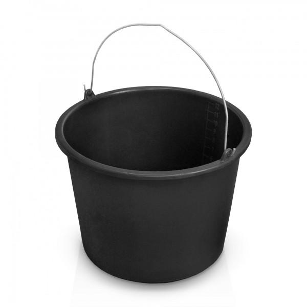 Mörteleimer 12 Liter schwarz