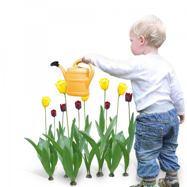 Kindergießkanne 1 Liter orange