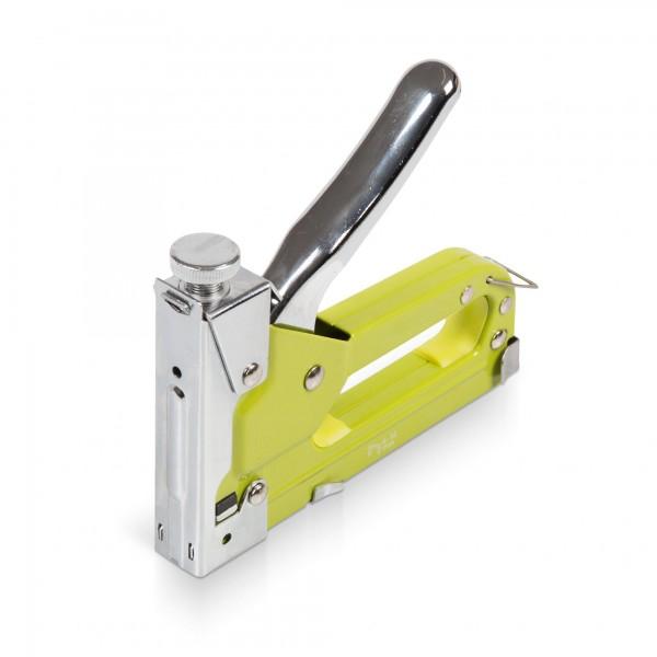 Handtacker/-nagler inkl. 600 Klammern & Nägel