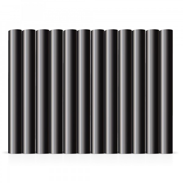 12x Heißklebestick schwarz Ø 11x100mm