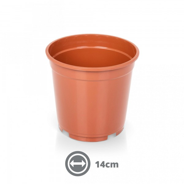Containertopf 14 cm 1,4 l terracotta
