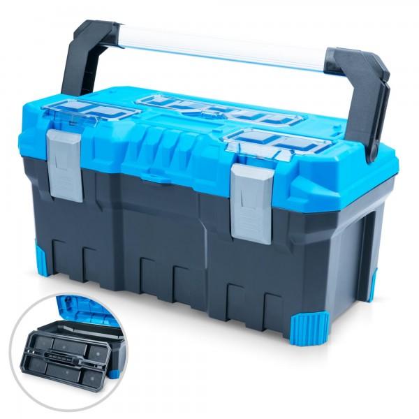 Werkzeugkoffer 55 x 29 x 28 cm - BLUE PREMIUM LINE -