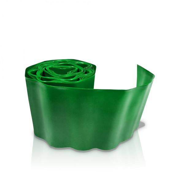 Rasenkante 10 cm x 9 m - grün