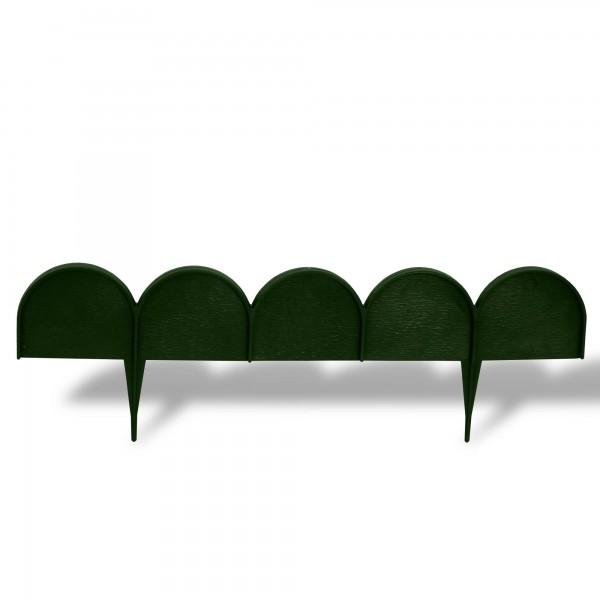 Rasenkante Bogen 10 m x 9 cm grün