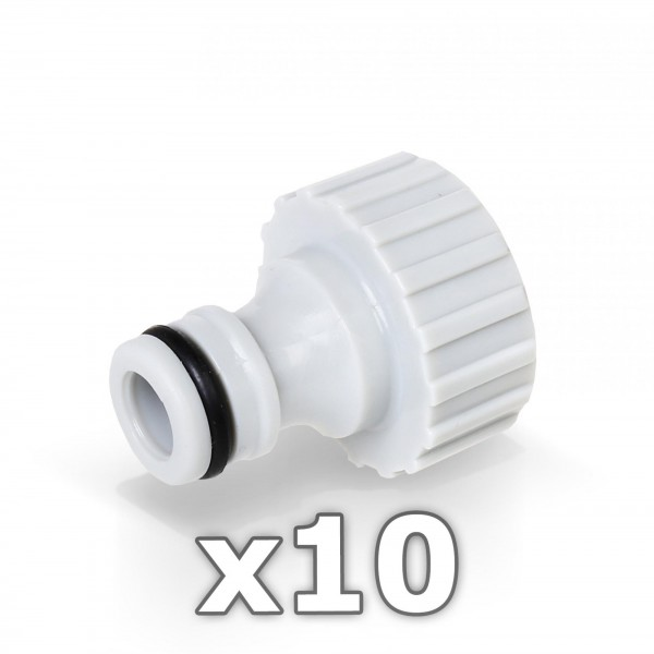 10 x Berlan Hahnstück für Wasserhahn 3/4'' Zoll - RED LINE -