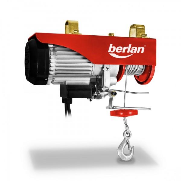 Berlan Seilhebezug BSZ500A - 250/500 kg - 900 Watt