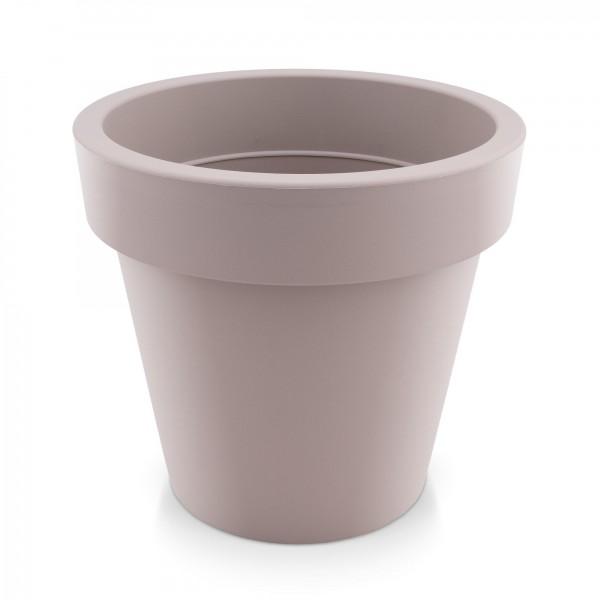 Kunststoff Blumentopf - mocca - Höhe 271 mm