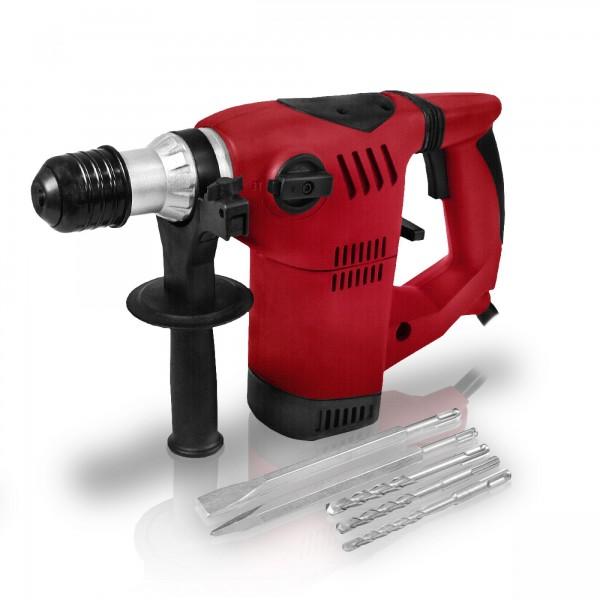 Berlan 1500 Watt SDS Bohrhammer BBMH1500 inkl. Bohrer & Meißel