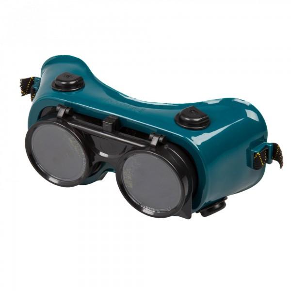 Schweißerbrille - Visier klappbar - 50 mm Gläser