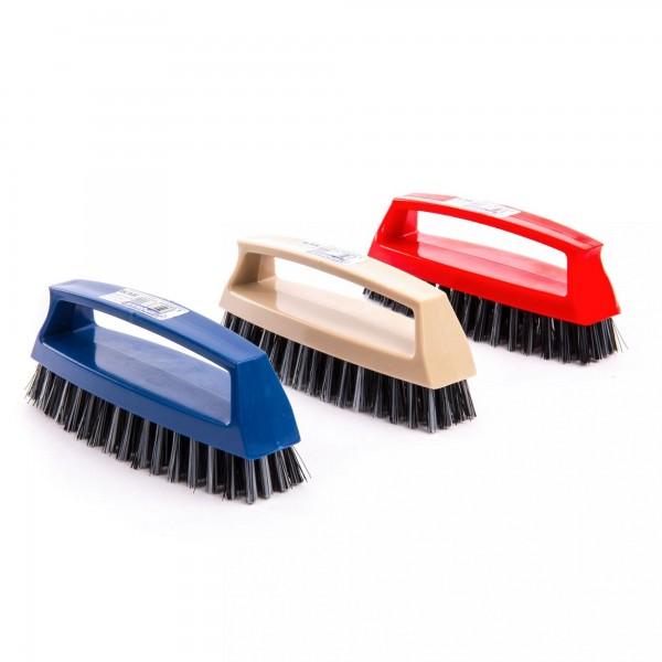15 cm Kunststoff Schuhbürste mit Griff