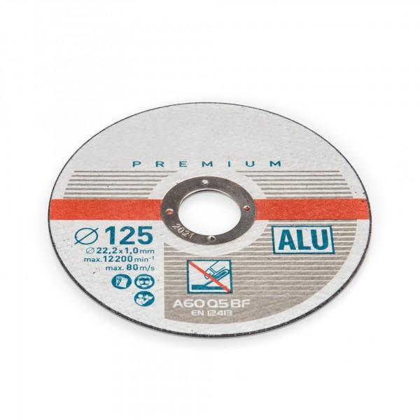 125 mm Trennscheibe für Aluminium - 1 mm Dicke